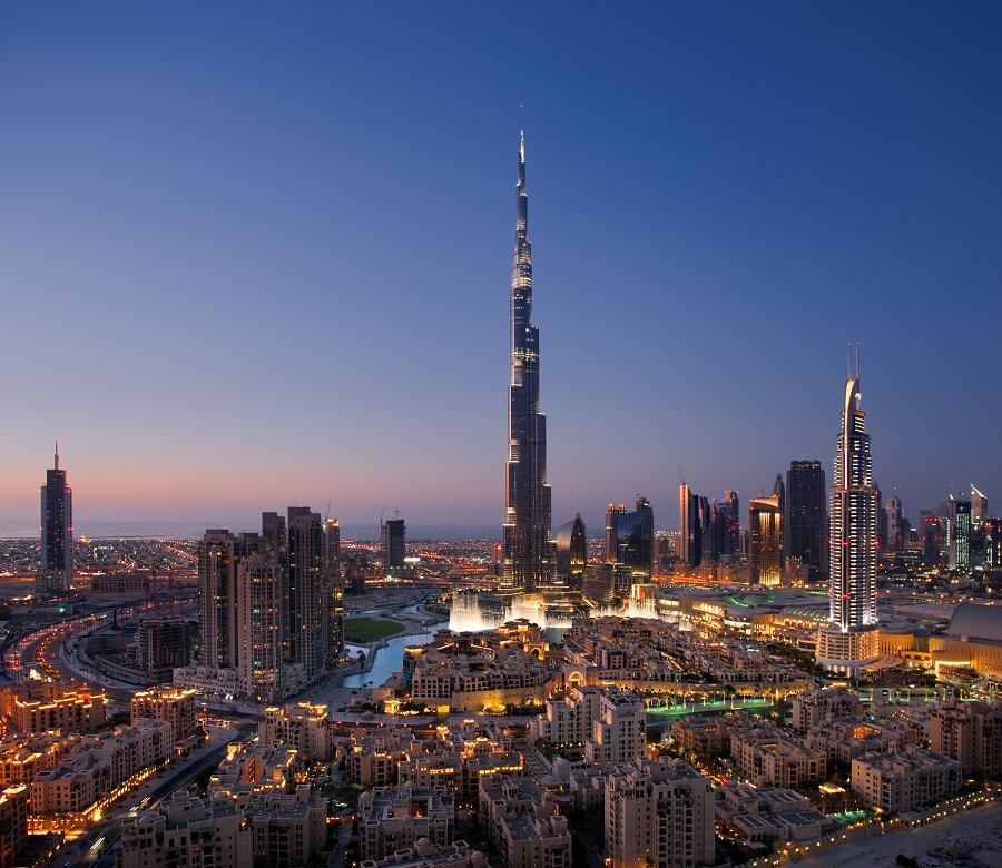 Dubai Skyline Resize