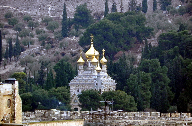 Graybit Around the World RTW -Travel family vacation fun stuff to do - mount of olives in  jerusalem