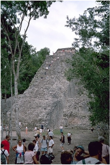 Graybit www.graybit.com - World travel blog family holiday vacation website - Coba, NohochMul Pyramid Amazing Riviera Maya Attractions
