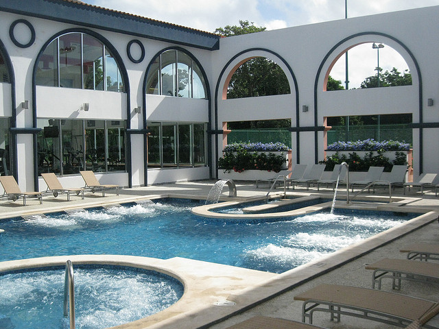 Spa at Sandos Playacar Resort